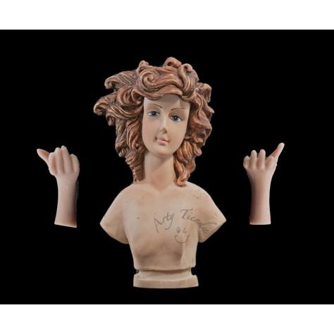 Angel gigante 50 cms en resina italiana