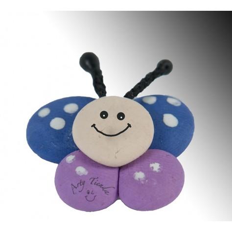 Aplique mariposa en porcelanicron