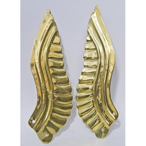 Aureola alas en lámina de bronce  3