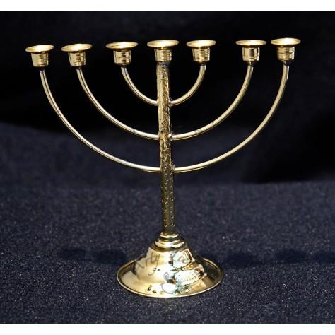 """Bronce candelabro de 7 luces """"Menorah"""" 1"""