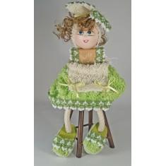 Country muñeca en toalla cara en porcelanicrón en diferentes colores