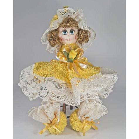 Country muñeca en toalla cara en porcelanicrón en diferentes ...