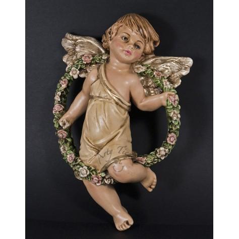 Angel abundancia aplique mediano en fibromadera
